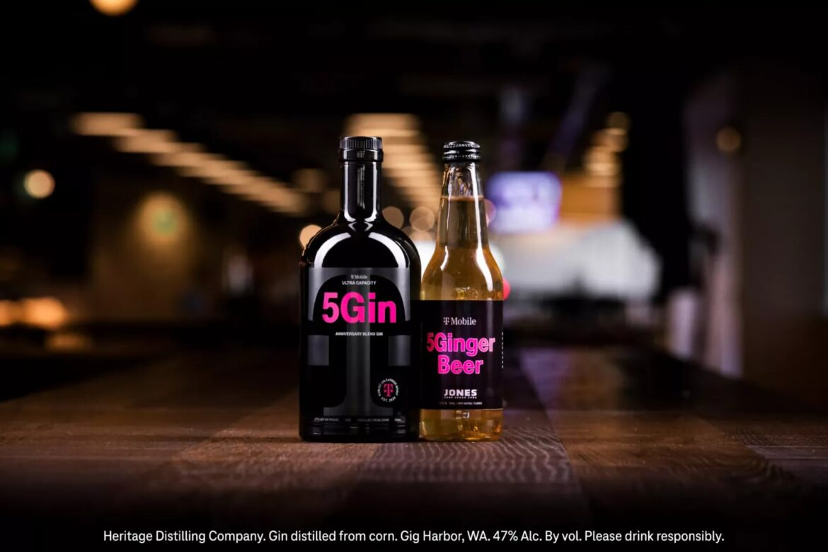 T-Mobile wants to sell you branded gin and beer to help promote 5G